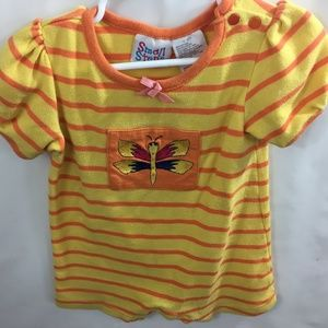 Small Steps Infant Girls Onesie 12 mos Bumble Bee
